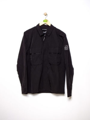c700080751e MARSHALL ARTIST LIQUID BELLOW OVERSHIRT – BLACK