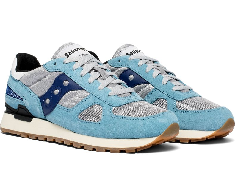 official photos 70c16 59014 Saucony Shadow Original Vintage - Blue, Grey and Navy