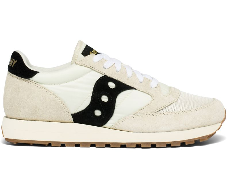 sale retailer 65f1a 36136 Saucony Jazz Original Vintage - White and Black