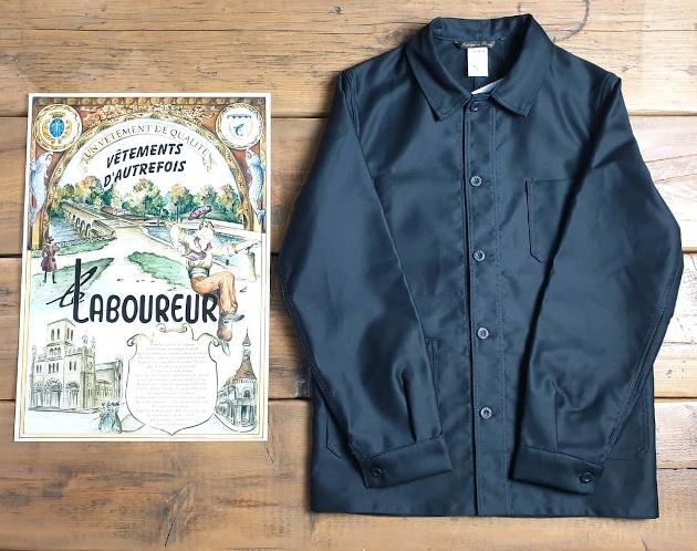 Le Laboureur Moleskin Jacket
