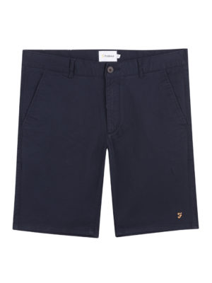 Farah Navy Hawk Chino Short