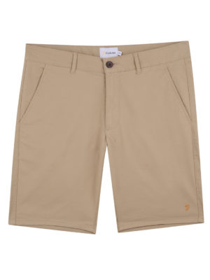 Farah Hawk Sand Chino Shorts