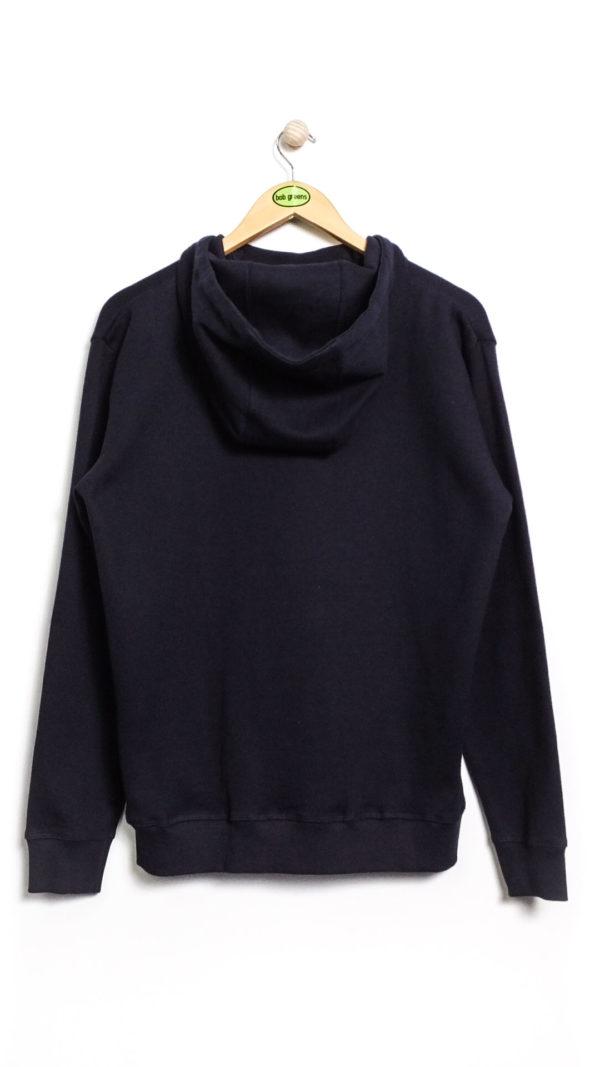Armor Lux Hooded Graphic Sweatshirt - Navy