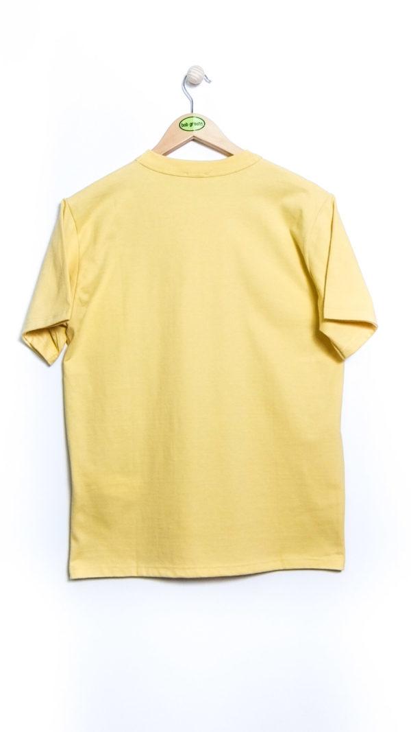 Armor-Lux Héritage Short Sleeved T-shirt - Blonde [Back]