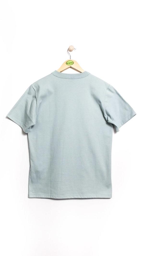 Armor-Lux Héritage Short Sleeved T-shirt - Marsouin Grey [Back]