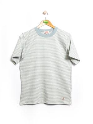 Armor-Lux MC Rayé Héritage T-Shirt - Marsouin/Nature