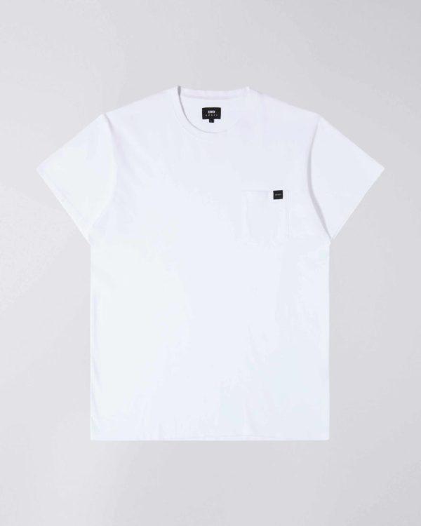 Edwin Pocket T-Shirt White I024991