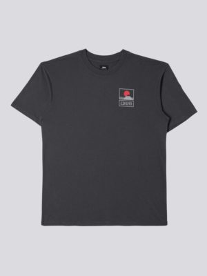 Edwin Sunset on MT Fuji T-Shirt Ebony 1025881