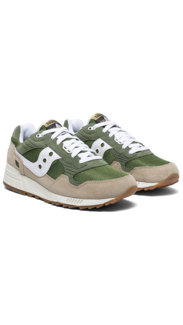 Saucony Shadow 5000 Vintage - Green Light Brown