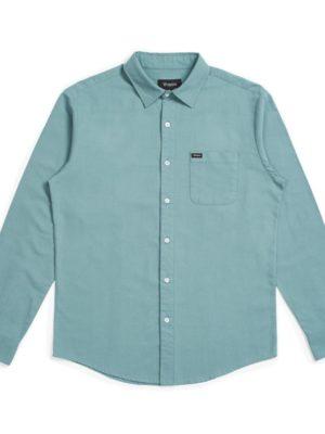 Brixton Charter Oxford L/S Woven Shirt - Jade