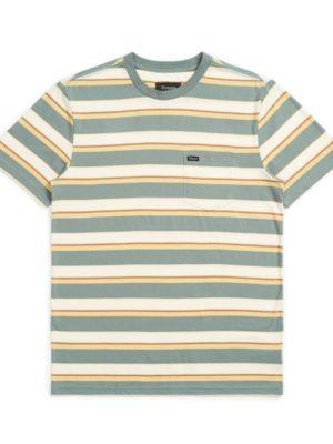 Brixton Hilt Pocket Knit T-Shirt - Cyprus