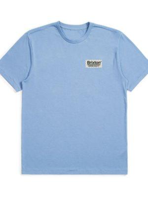 Brixton Palmer Premium T-Shirt - Slate Blue
