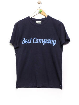 Best Company Crew Neck Classic T-Shirt - Navy