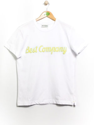 Best Company Crew Neck Classic T-Shirt - White