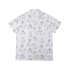 Edmmond Short Sleeve Shirt Toile - Printed White