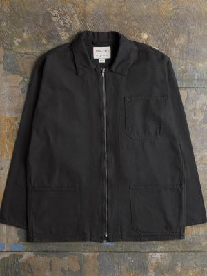 Uskees Zip Black Shirt 3002