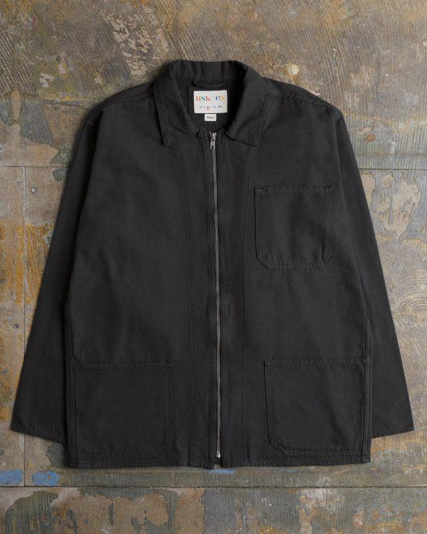 Uskees Zip Black Shirt 3002