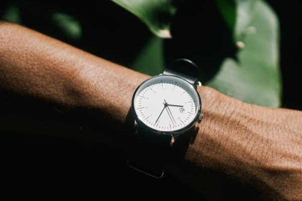 CHPO Harold Watch - Black/White