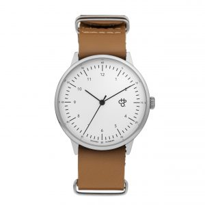 CHPO Harold Watch - Brown/White