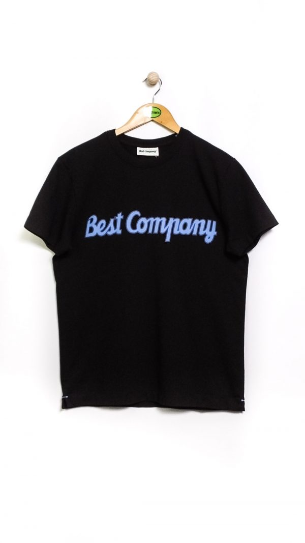 Best Company Crew Neck Classic T-Shirt - Black