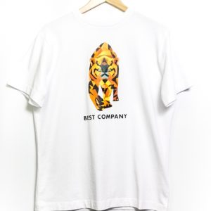 Best Company Crew Neck Tiger T-Shirt - White