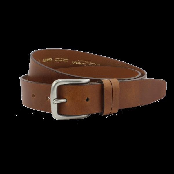 British Belt Company Thistleton Tan 34mm Belt