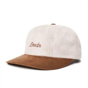 Brixton Sprint Cap - Vanilla & Bison