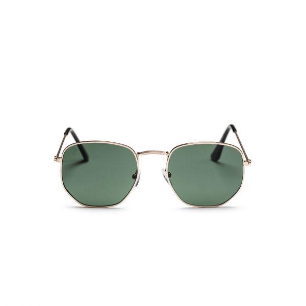 CHPO Ian Sunglasses - Gold / Green