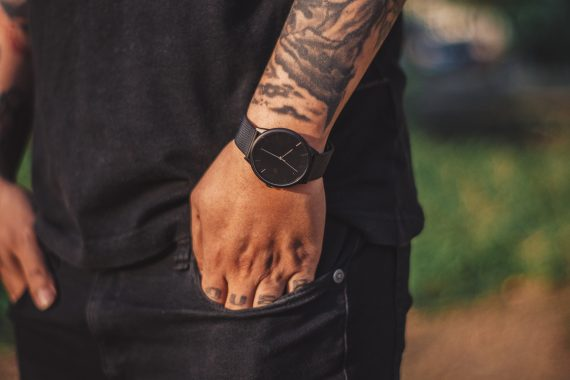 CHPO Nando Slayer Watch - Black