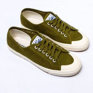 Superga 2390 Cotu - Green Military