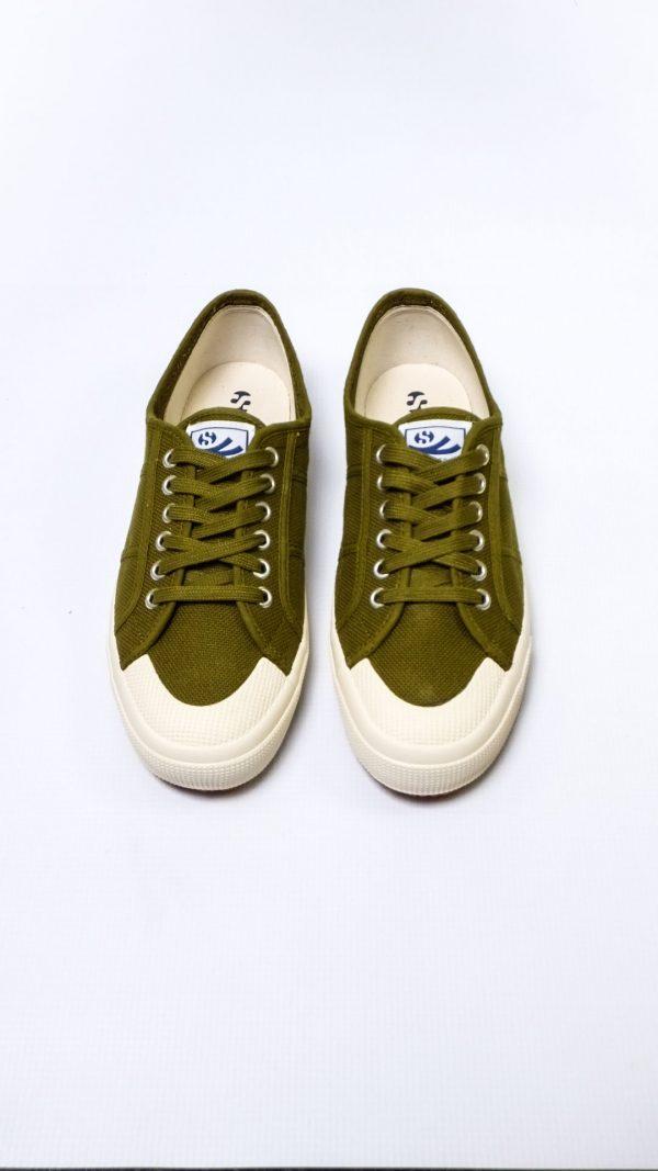 Superga 2390 Cotu - Green Military