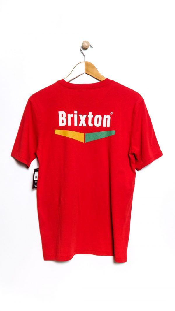 Brixton Velocity Tee - Scarlet