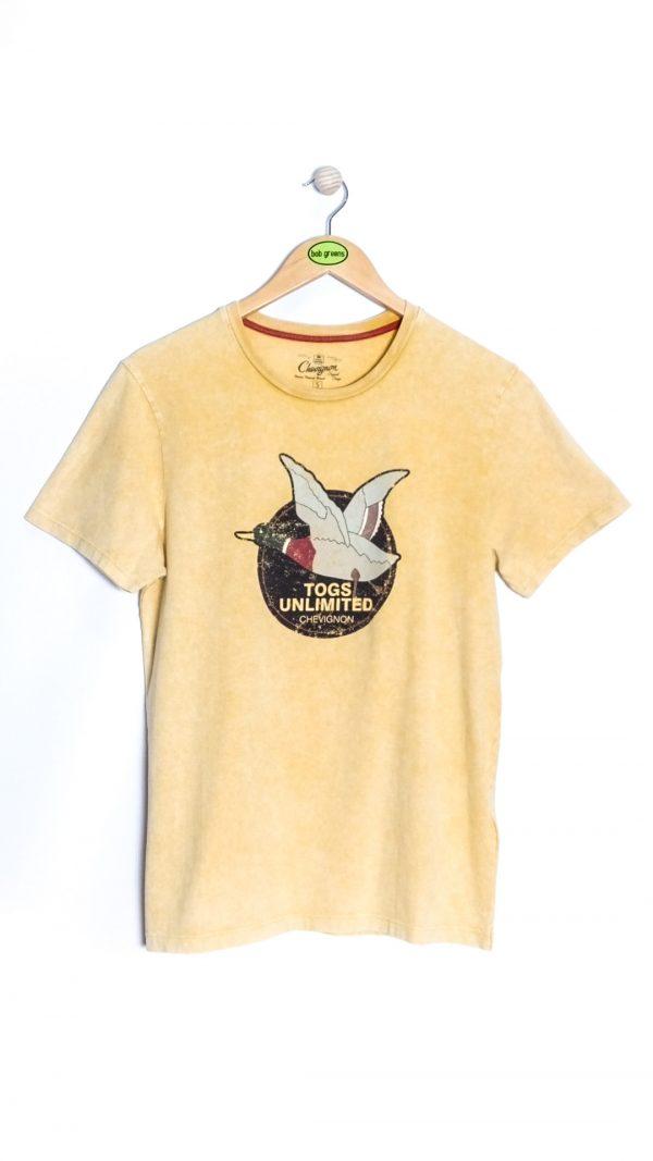 Chevignon Unlimited Vintage Togs T-shirt - Yellow Saffron