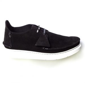 Clarks Originals Seven - Black Suede