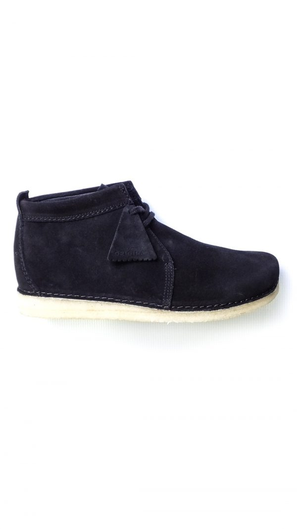 Clarks Originals Ashton Boot - Black Suede
