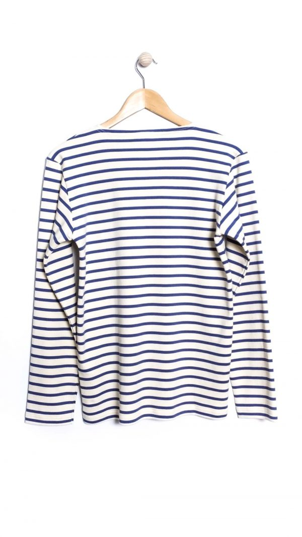 Armor-Lux Marinière Stripe Shirt - Nature/Ink