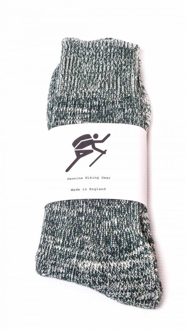 Pennine Hiking Gear Standard Socks - Dark Green