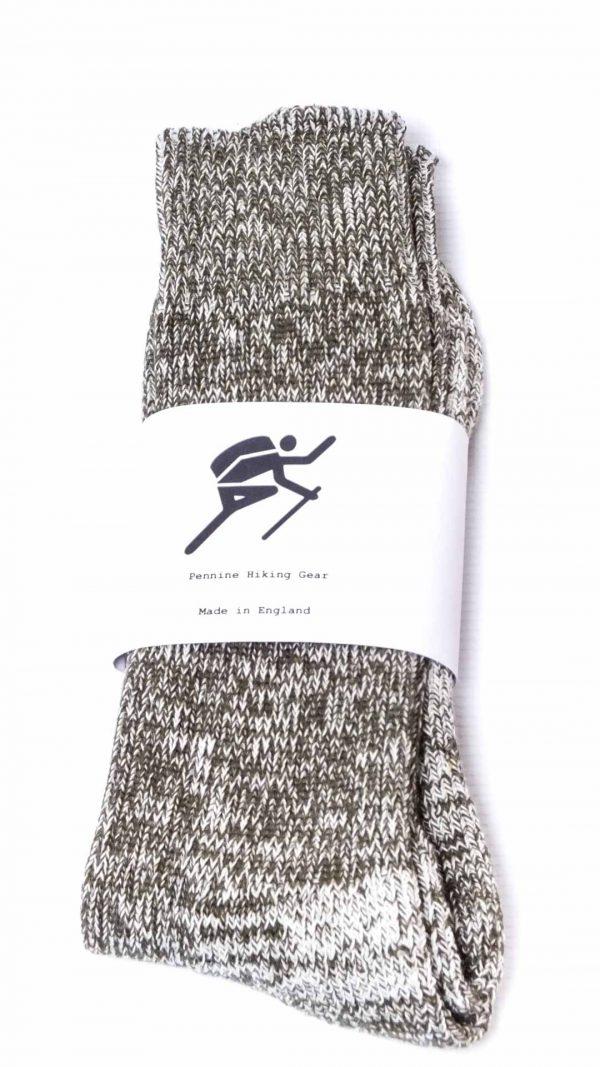 Pennine Hiking Gear Standard Socks - Olive