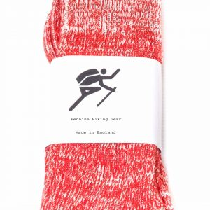 Pennine Hiking Gear Standard Socks - Red