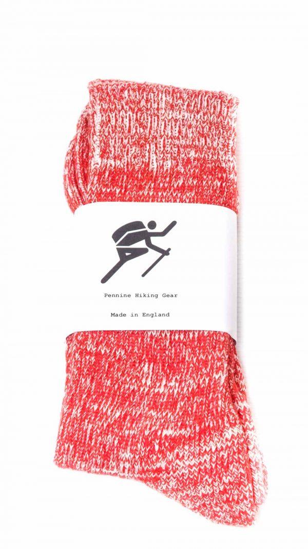 Pennine Hiking Gear Standard Socks - Red