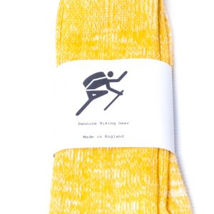 Pennine Hiking Gear Standard Socks - Yellow