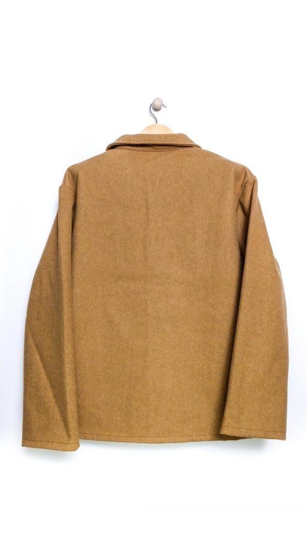 Le Laboureur Wool Work Jacket - Camel