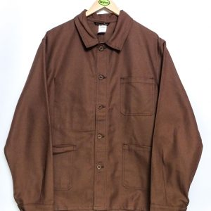 Le Laboureur Cotton Drill Work Jacket - Brown