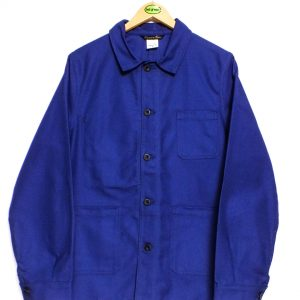 Le Laboureur Cotton Drill Work Jacket - Navy