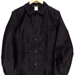 Le Laboureur Moleskin Work Jacket - Black