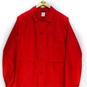 Le Laboureur Cotton Drill Work Jacket - Red