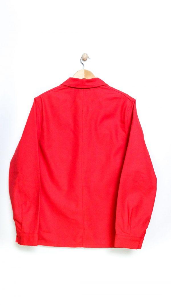 Le Laboureur Cotton Drill Work Jacket - Red