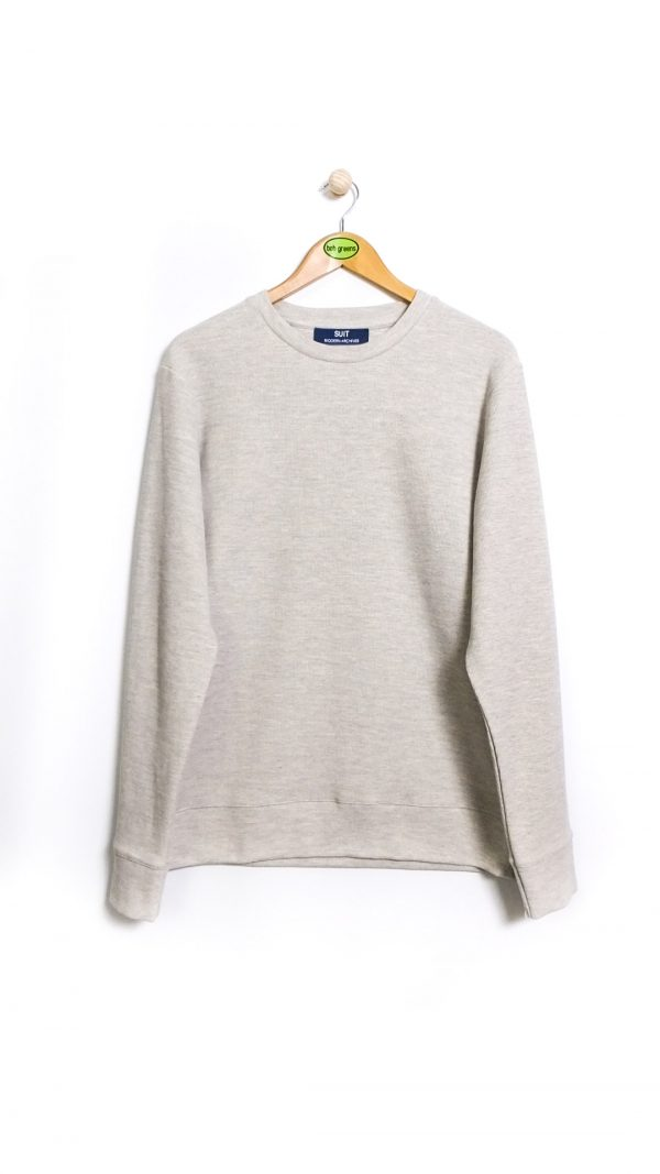 SUIT Modern Archives Sweatshirt - Grey Melange
