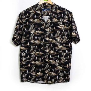 SUIT Modern Archives SS Edvin Shirt - Black