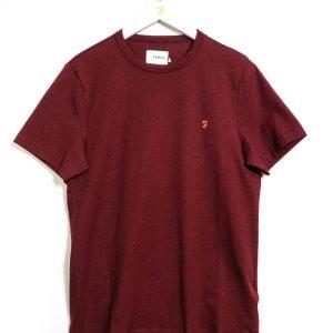 Farah Dennis SS T-Shirt - Farah Red Marl